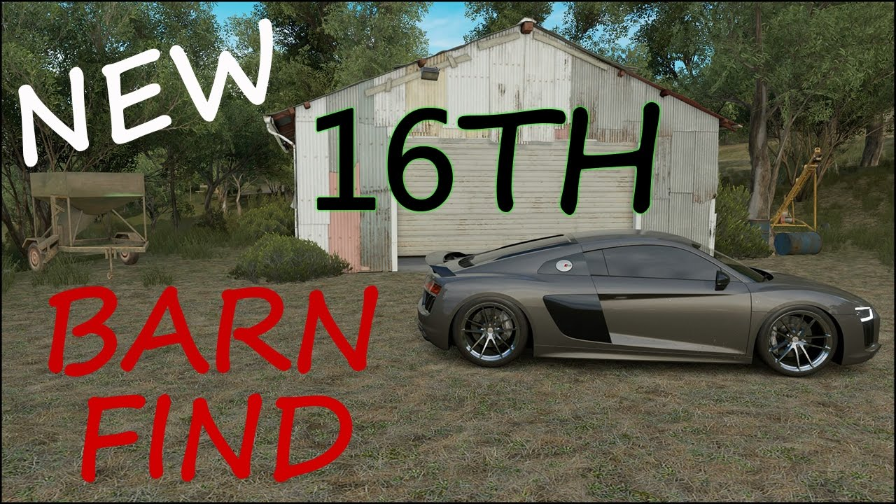 Forza Horizon 3 Update New Car Barn Find FH3
