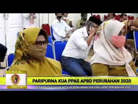 Rapat Paripurna DPRD Kota Gorontalo,Tentang 1 Buah Ranperda Usul Inisiatif Eksekutif