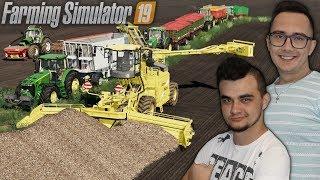 """Odbiór Buraków 2020 [4 Zestawy]  ✔ Farming Simulator 19 """"Po Sąsiedzku""""#99 MafiaSolec"""