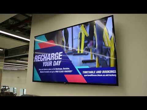 Sport & Fitness digital screens