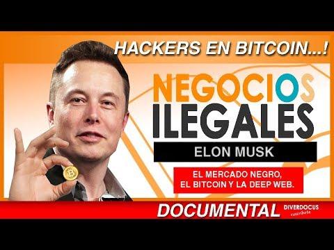 Bitcoin, Hackers y Deep Web: Negocios Ilegales en Mercado Negro - Elon Musk, Diverdocus Doblajes