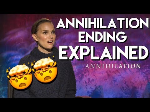 Natalie Portman explains the ending of ANNIHILATION with the cast Mp3