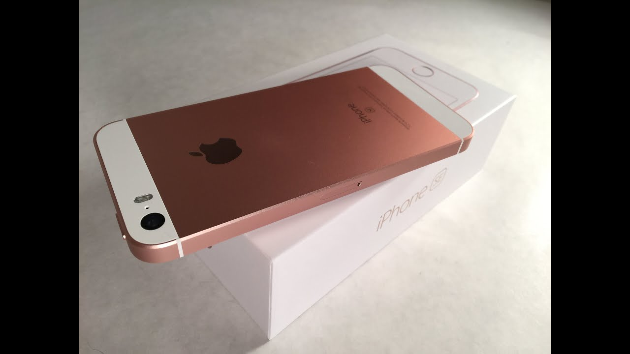 iphone se rose gold 64gb teurer schmuck. Black Bedroom Furniture Sets. Home Design Ideas