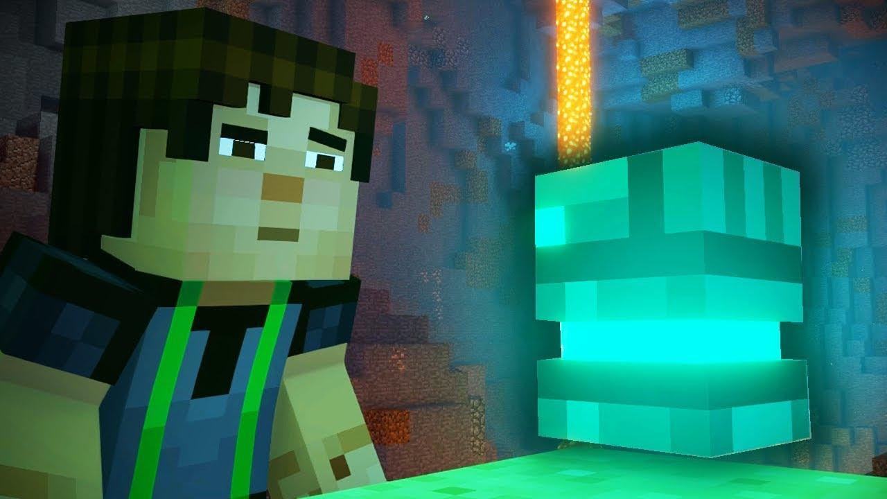 Minecraft Story Mode Sezon 2 Tajemniczy Artefakt Viralhunt