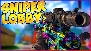 """SNIPER ONLY LOBBY?"" Black Ops 3 Locus Sniping on Nuketown!"