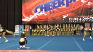 CA AllStars Senior Shine - Cheer Pros