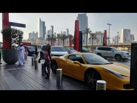 Dubai Mall Tour, Worlds Largest Mall, Burj Khalifa, Dubai Aquarium, skate, Underwater Zoo, Fountains