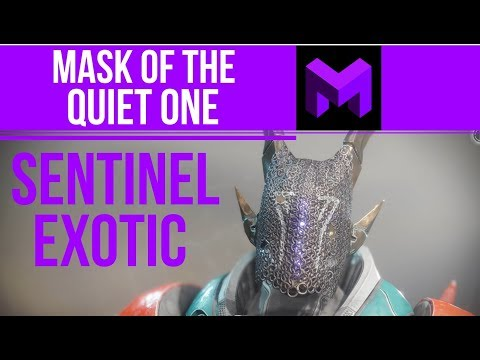 Mask of the Quiet One Exotic Review: Sentinel Titan Helmet