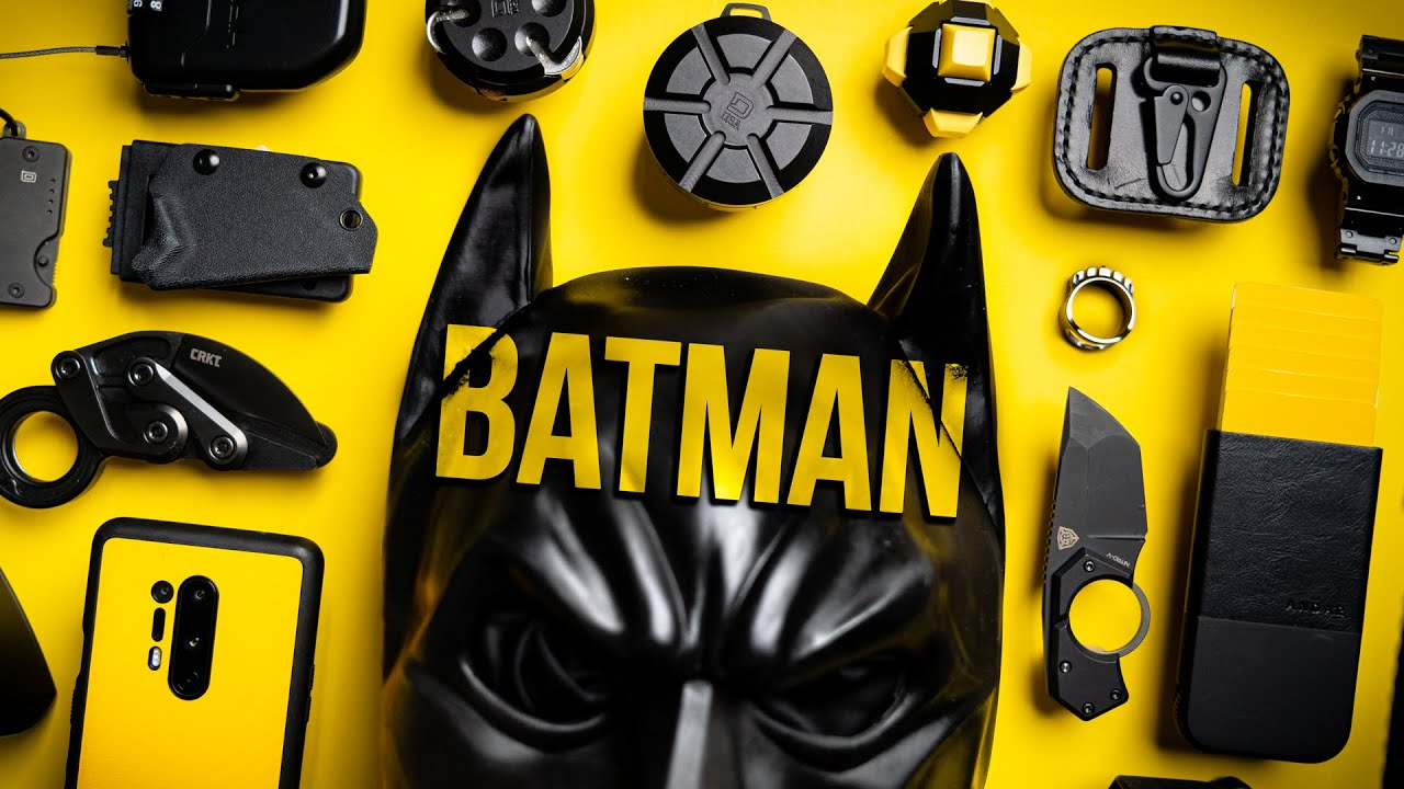 What's In My Pockets Ep. 29 - Batman EDC (Everyday Carry)
