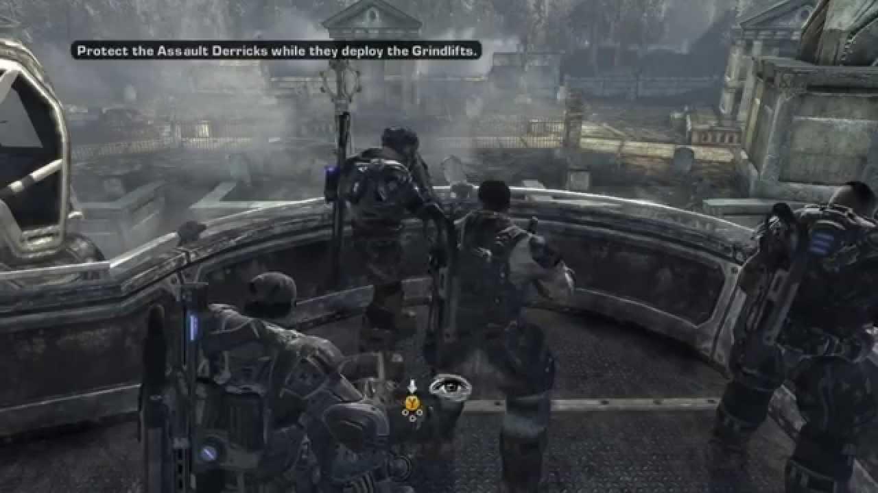 Gears of War 2 Walkthrough/Gameplay Xbox 360 HD #1 - YouTube