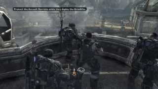 Gears of War 2 Walkthrough/Gameplay Xbox 360 HD #1