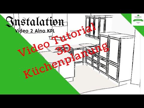 Alno KPL Komplette erklärung der Funktionen Küchenplanung