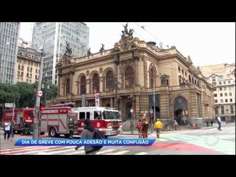 Cidade Alerta acompanha dia de greve no Brasil