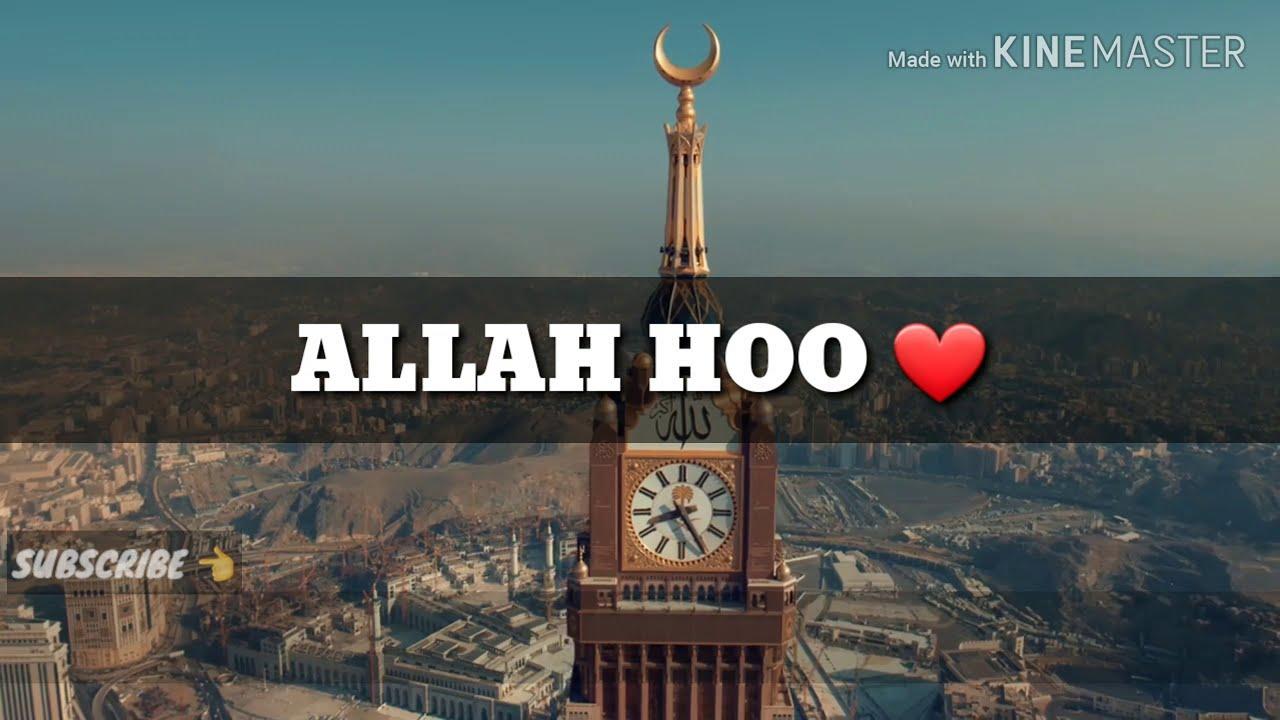 Allah Hoo Allah Naat Whatsapp Status  Islamic Status by Ashfaq Rajper ||