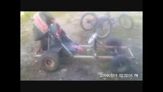 Montage du moteur solex 3300 sur karting