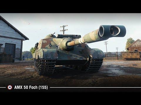 AMX 50 Foch (155) | Изи 10K на Лайв Оксе