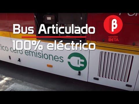 Bus Eléctrico Articulado