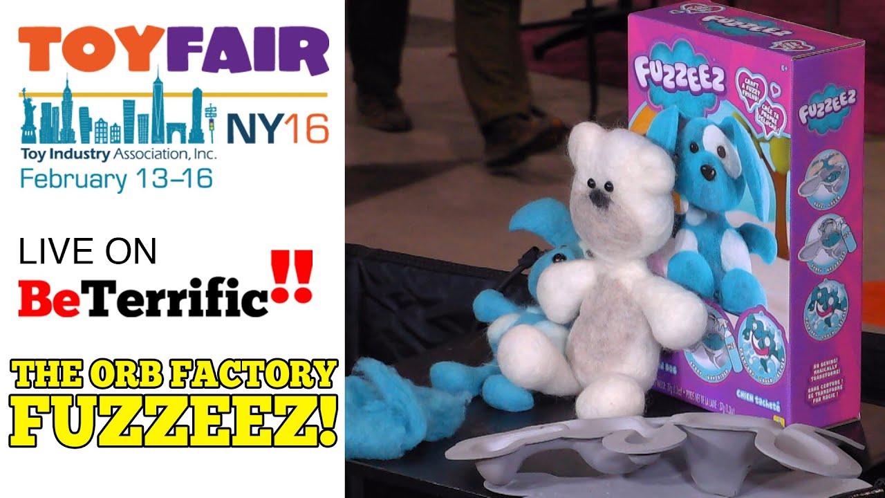 Magically Transforming Wool Into Fluffy Friends Fuzzeez At Toy Fair