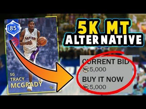THE CHEAP SAPPHIRE T-MAC!! *5K MT ALTERNATIVE*   NBA 2K18 MyTEAM CHEAP BEAST