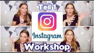 Erfolgreich INSTAGRAM Influencer werden! Meine Tipps und Tricks TEIL 1 Workshop!