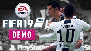 LOS PEQUEÑOS DETALLES DE LA DEMO DEL FIFA 19