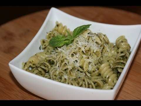recette p tes fusilli au pesto fusilli pasta with pesto recipe recettes maroc youtube. Black Bedroom Furniture Sets. Home Design Ideas