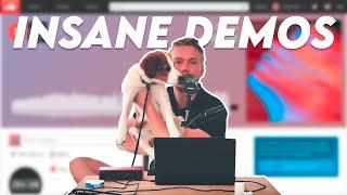 Listening to my subscribers INSANE demos with my doggo