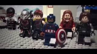 Первы Мститель Противостояние Лего трейлер