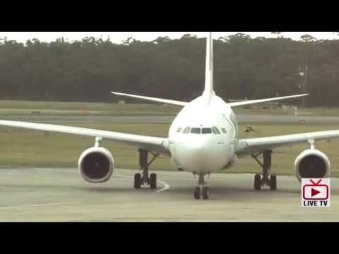 Srilankan Airlines first direct flight to Melbourne