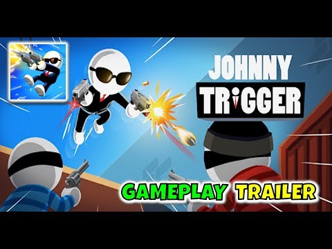 Johnny Trigger - Gameplay Trailer (iOS, Android)