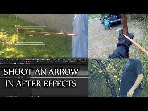SPECIAL FX - How to Shoot Someone with an Arrow Effect - After Effects