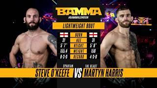 BAMMA 34: Steve O'Keefe vs Martyn Harris