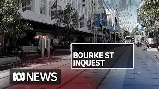 'Take this vehicle out': Bourke St attack inquest hears frantic police calls | ABC News