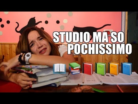 STUDIO MA SO POCHISSIMO| CORI (PARODIA BENE MA NON BENISSIMO - SHADE)