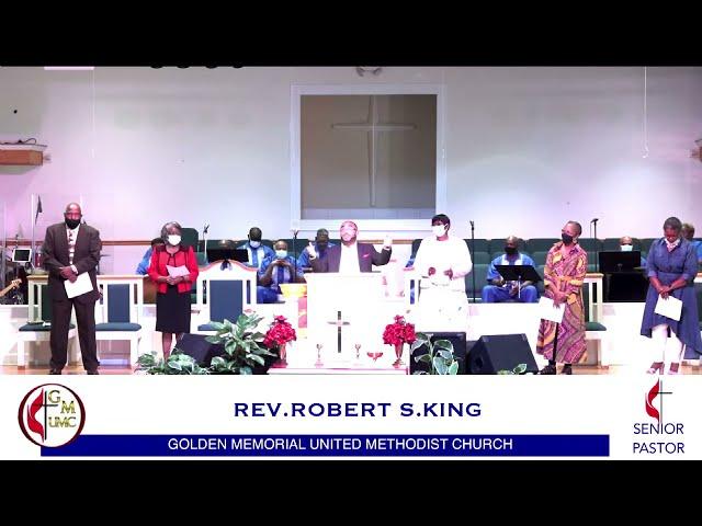 07-25-2021 - Golden Memorial Live Stream with Pastor Robert S. King