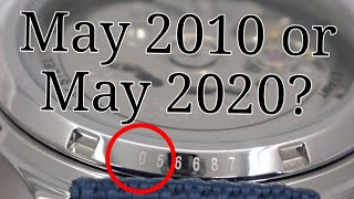 Do you know h๐w old your Seiko watch is? Watch and Learn #80