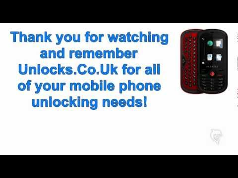 Unlock Alcatel One Touch 606 OT606