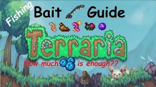 Terraria 1.4 Fishing Bąit Guide - Best Bait Farm & Bait Management
