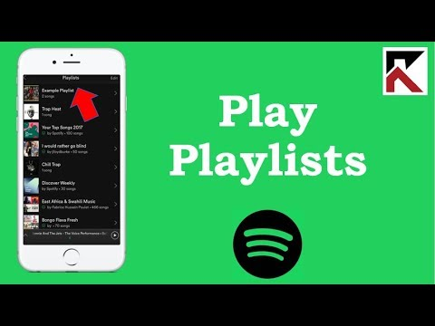 How To Play Your Playlists On Spotify iPhone