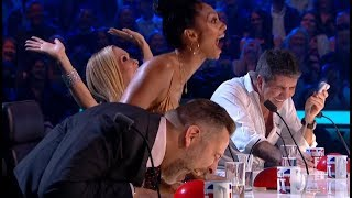 ROFL! FUNNY Comedian Makes Judges UGLY LAUGH! *** TRY NOT TO LAUGH CHALLENGE ***