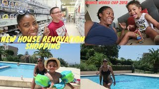 NEW HOUSE SHOPPING  I HAVE SOMETHING TO SHOW YOU ALL  THE ZEBRA TRIBE  JAMAICAN