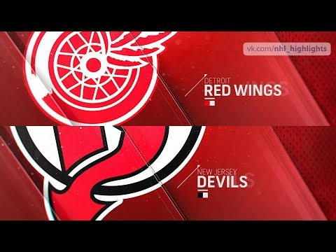 Detroit Red Wings vs New Jersey Devils Nov 17, 2018 HIGHLIGHTS HD