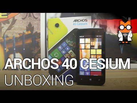 Archos 40 Cesium - Unboxing & Erste Eindrücke [DEUTSCH]