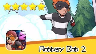 Robbery Bob 2 Pilfer Peak 17-18 Walkthrough Scurvy Bob Recommend index five stars