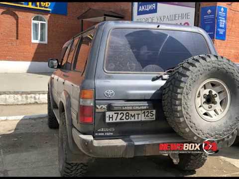 Депутата Думы Хасанского района поймали на машине с подложными номерами