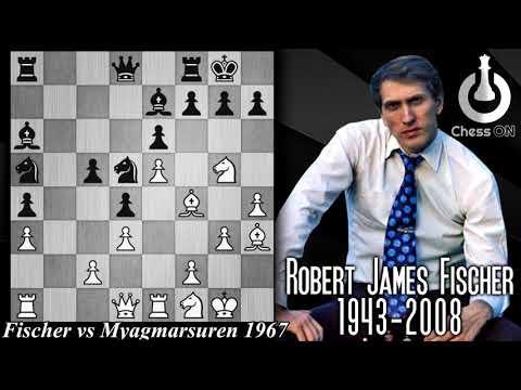 Game Of The Day! Fischer Vs Myagmarsuren 1967