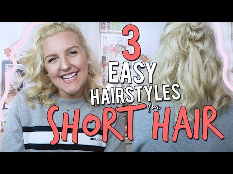 3-easy-hairstyles-for-short-hair-||-kellyprepster