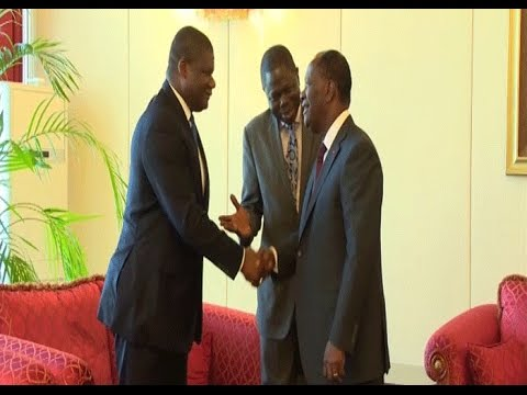 Côte d'Ivoire: Alassane Ouattara reçoit des représentants des institutions de Bretton Woods