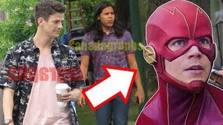 The Flash Season 6 FIRST LOOK Leaked! NEW Flash Suit & *SPOILER* Returns?