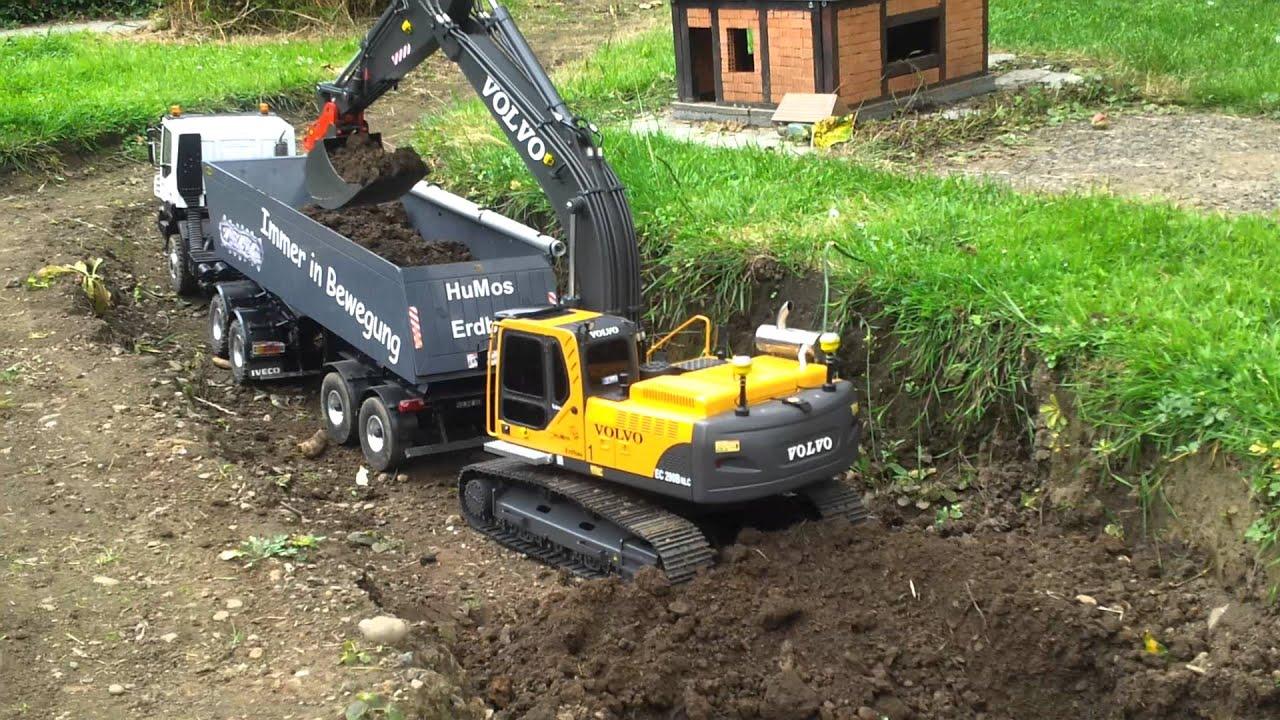 Volvo Excavator EC 290 B NLC in Action! - YouTube